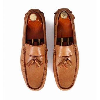 Giày mọi Alessandro Luigi LG92-72 (Nâu)