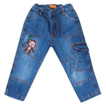 Quần jean dài bé trai Xanh nhạt - BT51108