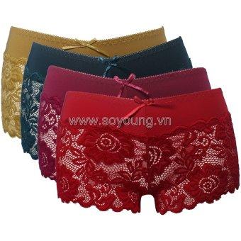 Bộ 4 Quần Lót nữ SoYoung 4DL NU 029