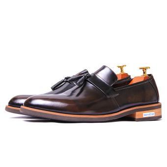 Giày tây nam da thật Da Giày Miền Trung VCTMT8LZD63NT-2 (Nâu Trà)