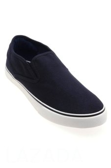 Giày nam phong cách thể thao Aqua Sportswear L0051 (Đen Trắng)