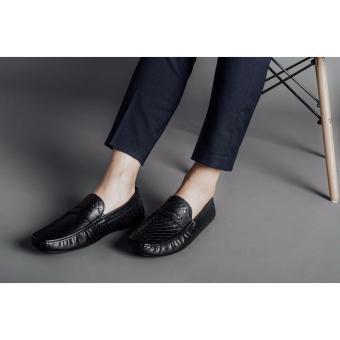 Giày lười nam Laforce họa tiết đan rổ GNLAHF142-3-D