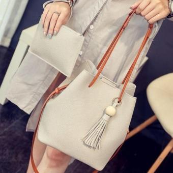 Bộ đôi túi và ví thời trang SD3 (Xám)
