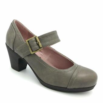 Giày cao gót đế dày 333010-188-18 (màu xám)