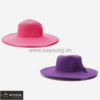 Bộ 2 Nón Nữ Rộng Vành Lớn SoYoung 2WM LR BRIM CAP 010 CO P