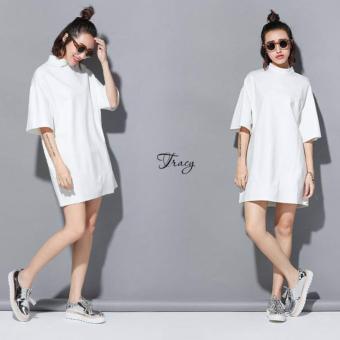 Đầm suông Xavia Clothes Tracy (Trắng)