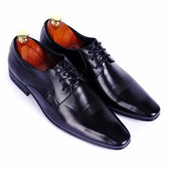 Giày tây nam da thật cao cấp Da Giày Việt Nam - VNLLT76-10VCT42D-2 (Đen)