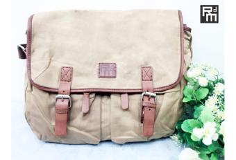 Túi đeo chéo Rock da Mood 913-13 (Màu da bò nhạt)