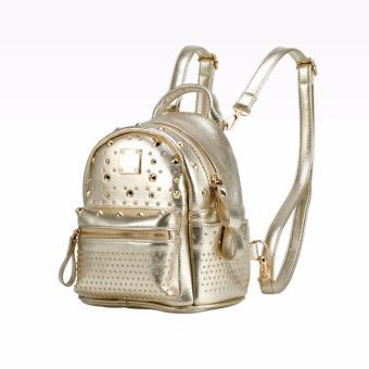 Balo da nữ thời trang cao cấp HMBL92-1 (Vàng)