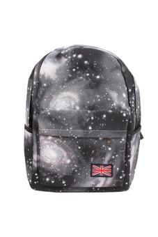 LALANG Galaxy Pattern Backpack (Black)