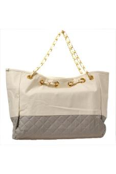 Lalang Shopping Tote Bag Grey - Intl