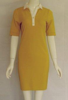Đầm ôm Ngoc Diep (vàng đậm)