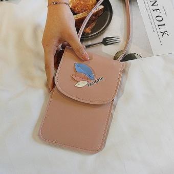 Women Messenger Bags Leaves Slim Crossbody Shoulder Bags Handbag Small Body Bags - intl