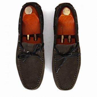 Giày mọi Alessandro Luigi LG92-83 (Xám đậm)