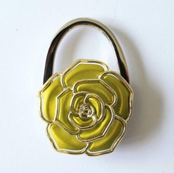 Móc treo túi xách hoa Hồng (Vàng)