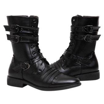 Giày bốt nam Family shop GN25 (đen)