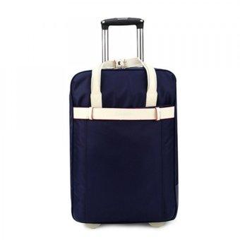 Vali túi du lịch kiểu dáng Hàn quốc HQ5890-1 (Xanh đậm)