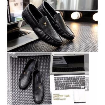 Giày lười da thật thời trang
