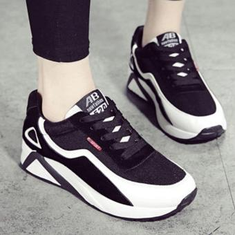 Giày sneaker nữ Bomdo BGTD119 (Đen)