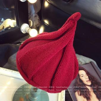 Nón trẻ em chất liệu len Flancoo 8754 (Đỏ tươi)