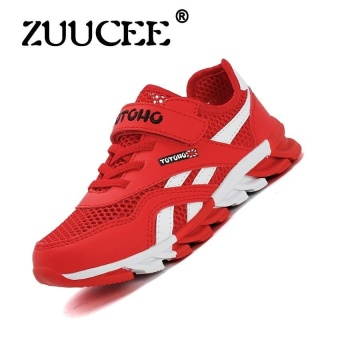 Sports Shoes Running Shoes Outdoor Hiking Shoes Netbreathable Climbing Shoes Solid Soles Shoes Mens Shoes (Red) - intl