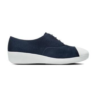 Giày Sneaker Fitflop F-Pop Oxford Canvas (Xanh Navy)