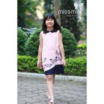 Váy bé gái bướm hồng Missi Mini 6 tới 10 tuổi