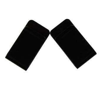 New Stainless Steel Black Slim Pocket Purse Money Clip Holder 5PCS - intl