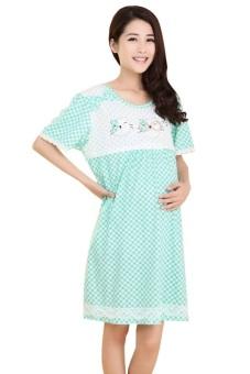 Váy bầu Family Shop VB13 (Xanh)