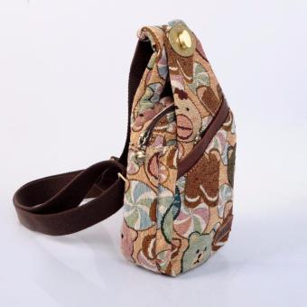 Balo 1 dây hoặc Túi đeo chéo nhỏ thời trang gấu Dav Danny dành cho nữ (DD112G858)