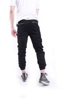 Quần jogger kaki nam TNCC zipper túi sau QV014
