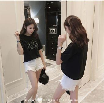 Áo thun nữ phong cách Hàn Quốc
