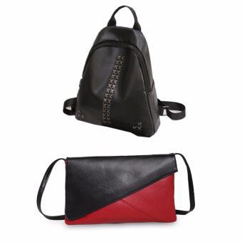 Bộ ba lô và túi xách phong cách DT1689
