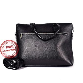 Túi nam da bò thật VNA01 (Đen) cung cấp bởi THỜI TRANG DA