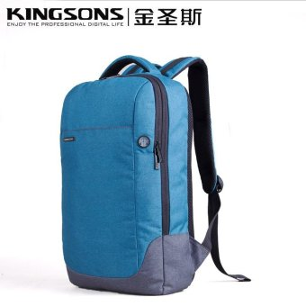 Kingsons 15.6 Inches Laptop Backpack Anti-theft Nylon School Bag Notebook Computer School Satchel Travel Trip Backpacks Rucksack (Blue) - intl