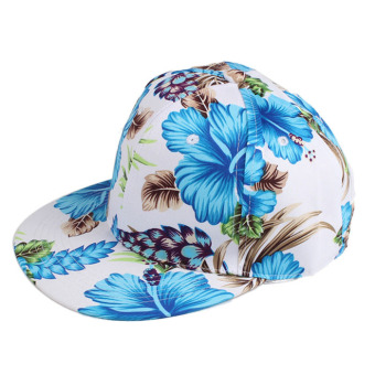 Embroidered Baseball Cap Blue