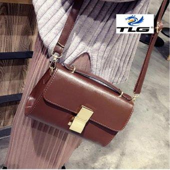 Túi nữ thời trang phong cách Hàn Quốc Đồ Da Thành Long TLG 208098-1(nâu)