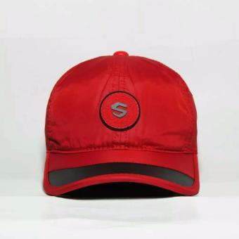 Nón kết thể thao dù logo S cao cấp NKD5 (đỏ)