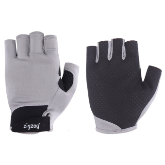 zigzag GLV00411- Găng tay Sport chống nắng UPF50+(xám đen)