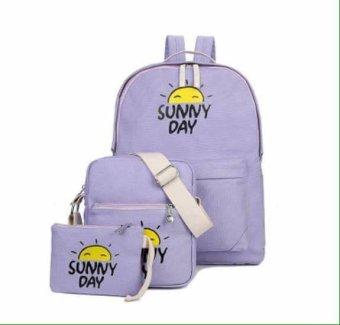 Bộ 3 Sunny Day Hoàn Hảo OSD04 (Tím Nhạt)