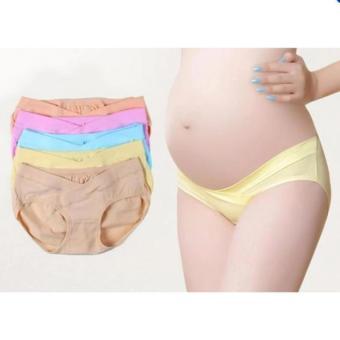 Bộ 5 quần lót cho mẹ bầu siêu thoáng (cạp thấp)