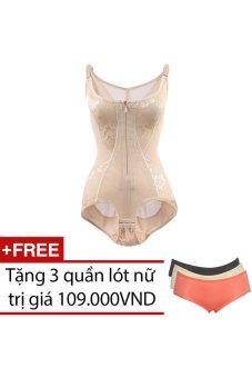 Bộ quần áo lót định hình Gen nữ SociuStore WM GEN 008 + Tặng 3 quần lót nữ