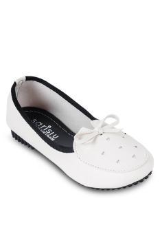 Giày búp bê srs863 màu kem