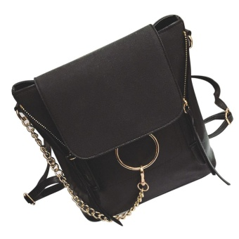 Women Fashion School Style Travel Satchel School Bag Backpack Bag - intl