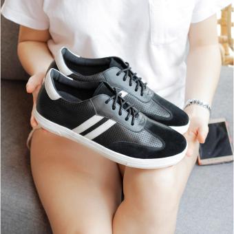 Giày sneaker nam Smartmen SM-06 (Đen)
