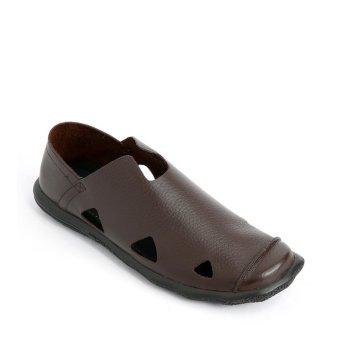 Giày mọi nam 4520 - Nâu