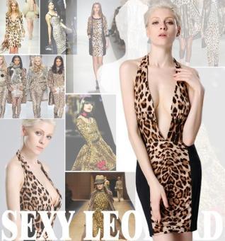 Sunwonder Sleeveless Deep V-Neck Sexy Slim Bodycon Backless Patchwork Dress (Brown) - intl