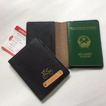Bao Da Hộ Chiếu Passport Cover Abu90 PC01 (Đen)
