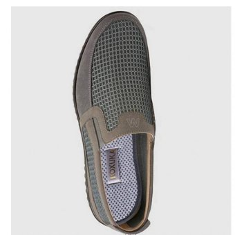 Bộ 3 đôi lót giày khử mùi than hoạt tính lưới 3D dành cho nam KOXUKA (Xám)