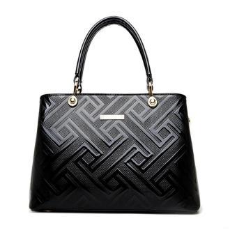 Túi da nữ Foxer FX191234Đ (Đen)